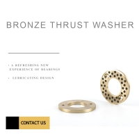 China Bronze Graphite Lubricating Metal Shim Washer for sale