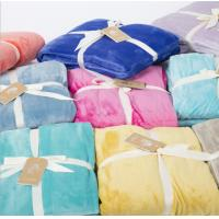 100% Polycotton Fabric Flannel Blanket Dyed Print Bale Packing / Blut Packing for sale