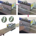 Long Platform PCB Depaneling Machine / V-cut PCB Electrostatic Separator for sale