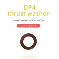 China Thrust Washers - Metric Size DP4 Plain Bearing for sale