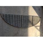 Industry Stainless Steel Floor Drain Grate / Galvanized Steel Grating Walkway