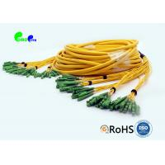 E2000 - E2000 48F Fiber Optic Patch Cables OS2 Multifiber Single Mode Breakout for sale