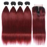 China Silky Straight 24 Inch Clip In Hair Extension , Real Human Hair Weave for sale