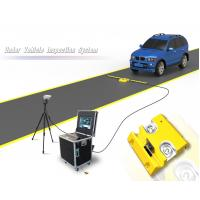 2048 Line CCD Mobile Under Vehicle Search Inspection System For Security