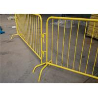 China Used traffic barrier removable crowd control barrier for event road safety for sale