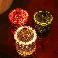 China Color Cylinder Scented Jar Candle Soy Wax Jar With Glass Lid 500g Wax Weight supplier