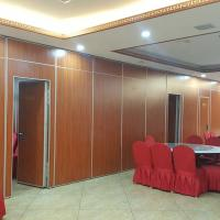 Banquet Hall Sliding Folding Acoustic Partition Wall Panel Weight 25-35 KG for sale