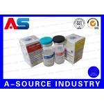 Cardboard Storage 10ml Vial Boxes For Glass Hologram Medicine Bottles , ISO9001