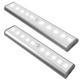 Wireless Motion Sensor USB Rechargeable Magnet Light for sale