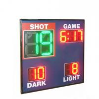 China Economy Model Led Basketball Scoreboard , Live Basketball Scoreboard With Shot Clock for sale