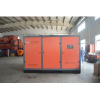 Stationary Motor Drive Low Pressure Air Compressor / Electric Screw Compressors For Industry for sale