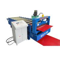Steel Silo Corrugated Roll Forming Machine For Roof Sheet for sale