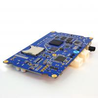 Sample 4 Layer PCB Fabrication and Assembly 1.6mm FR4 Blue Soldermask HASL