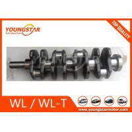 Casting Iron Engine Crankshaft For Mazda WL WL-T 2.5TD B2500 WL51-11-210 WL01-11-330 for sale