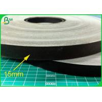 60GSM 15MM Food Grade Straw Paper Roll With Black Color Printing for sale