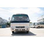 China Road Sightseeing High Roof Coaster Minibus Environmental Low Fuel Consumption for sale