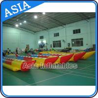 Water Sleds Banana Inflatable Boats Heavy Duty For 6 Passengers Water Games for sale