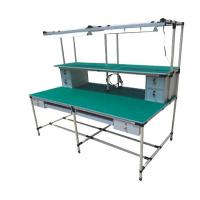 3D Drawing Pipe Workbench Movable 100-120kg Loading Capacity Die Casting Aluminium for sale