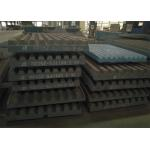 China Movable Jaw Crusher Jaw Plate  High Capacity Consumable Replacement for sale