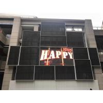 P16 Waterproof Outdoor Advertising LED Display  Curtain Outdoor LED TV Display