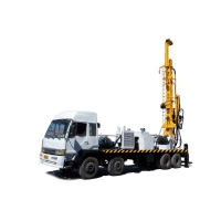 600m 650mm Truck Mounted Water Well Drilling Rig Yuchai Borehole Drilling Rig TSJ-600X70 Deep Multi - Function for sale
