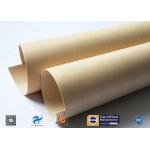 China Multi Color PTFE Coated Glass Cloth / Insulation PTFE Coated Glass Fabric for sale
