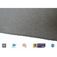 China 0.88mm High Quality C-Glass Double Sides Gery Silicone Coated Fiberglass Cloth supplier