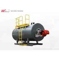 China Horizontal Oil Fired Hot Water Boiler Burning Completely For Hotel Cleaning for sale