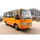 Shell Structure New Color Design Star Bus Mitsubishi Engine 19 Passenger Bus for sale