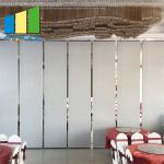 Wooden Sliding Room Acoustic Folding Foldable Partition Walls Divider Screen for sale