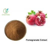 China Brown Pomegranate Extract Powder Punicalagin / Punicosides / Ellagic Acid for sale