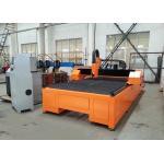 Table Plasma Metal Cutting Machine , 1500mm Width Air Plasma Cutting Machine for sale