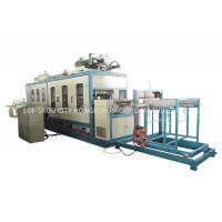 Three Phase 380V 50Hz Fast Food Box Machine / Food Container Production Line for sale