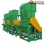 China 450mm Rotating Bottle Crusher Machine , Crusher Machine Plastic 30kW Motor for sale