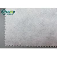 China Computer Embroidery Backing Paper Non Woven Fabric Rolls 65gsm Plain Pattern supplier