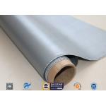 China 800g Silicone Coated Fiberglass Fabric For Engineering Thermal Insulation for sale