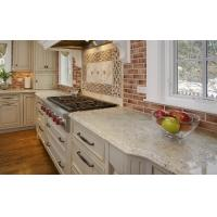China Bianco Romano Stone Slab Granite Countertops Pricing Polished Flamed Finished in Cut to Size Tiles for sale