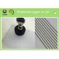 China 800gsm 1.2 mm Grey Board Paper Bulk Chipboard Sheets For Jewelry Box for sale