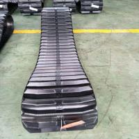 Farm Machine Combine Harvester Rubber Track Conventional / Interchangeable Type for sale