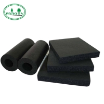 Black 30mm High Density Fireproof Rubber Sheet NBR Nitrile for sale
