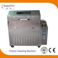 Wave Solder SMT Cleaning Equipment Pallet Washer Machine with 3 Levels Filter System for sale
