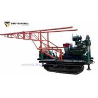 China Trailer / Crawler / Common Sled Three Types 250m Depth Spindle Water Well Drill Rig / Core Drill Rig manufacturer