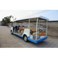 China 18 Seats Green Gasoline Electric Tourist Car Resort  Car F/R Independent Suspension for sale