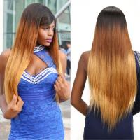 Ombre Three Tone Straight 100% Brazilian Virgin Hair Smooth 30 Tangle Free for sale