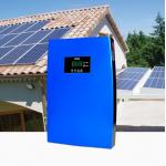 Solar Power Off Grid Home System Energy Saving  Solar Panels 768Wh, MPPT Dual 2.0 USB-2.0A Charging Function, Blue for sale