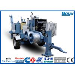 60kN 6 Ton 220kv Overhead Transmission Line Stringing Equipment with Cummins Diesel Engine