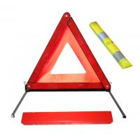 Reflective slow moving car / motorcycle warning triangle road sign JD5088kit-2 for sale