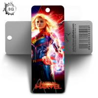 Custom Lenticular Promotional 3d Holographic Bookmarks 0.6mm PET+157g Coated Paper for sale