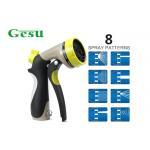 Yellow Black Garden Hose Nozzle Settings / Portable Spray Gun Nozzle Set