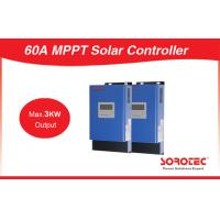 1600W 12V 24V 48V LCD Display 60A Max 3000W Output 24V MPPT Solar Charge Controller for sale